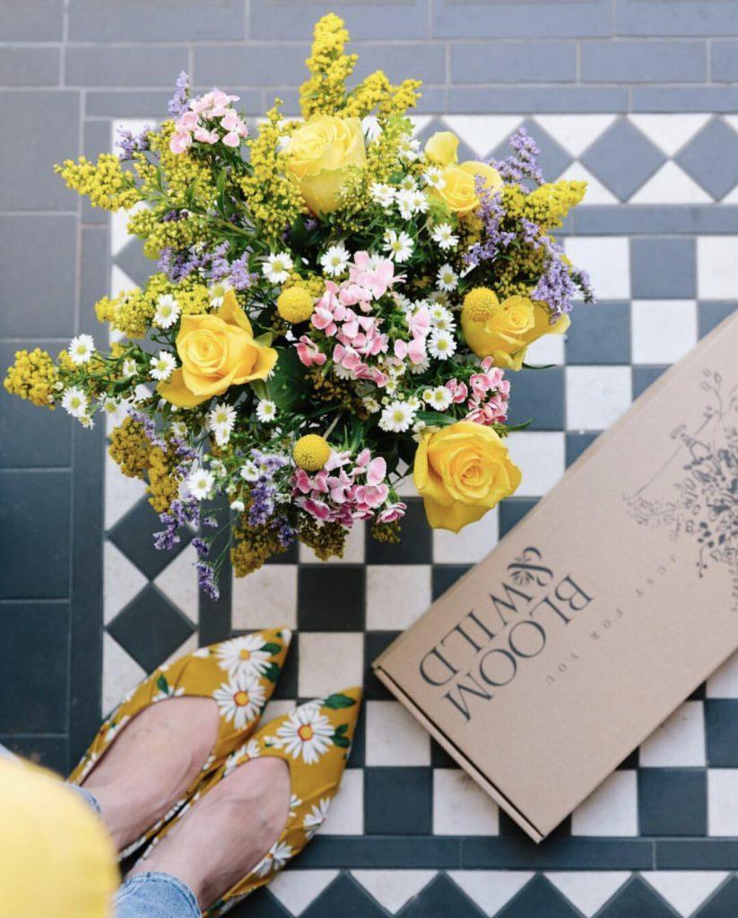 Flores na caixinha - Embalagem personalizada