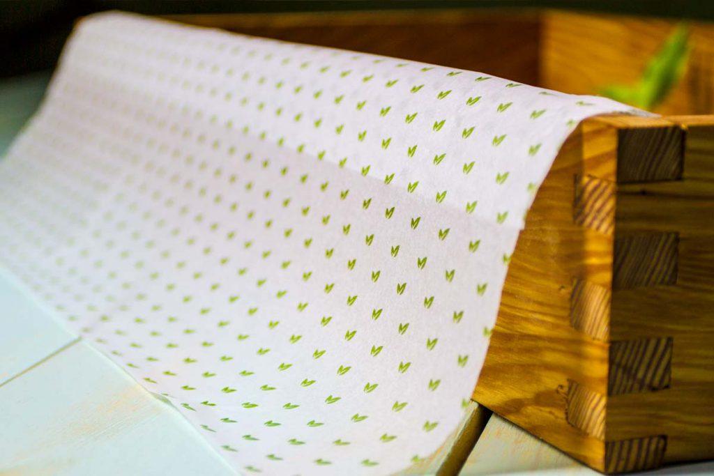 papel de seda - como usar papel de seda