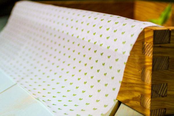 Mercado de luxo_ apresentação do calçado em embalagem de papel de seda personalizado 2