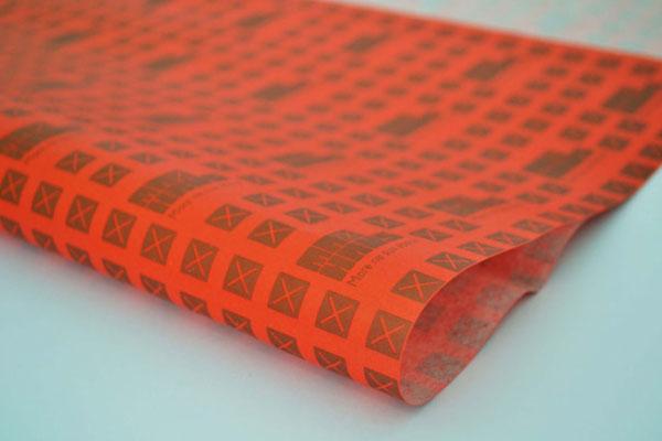 Mercado de luxo_ apresentação do calçado em embalagem de papel de seda personalizado 3